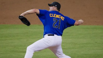 Roger Clemens, 56, Showed Off Some Filthy Stuff In The Texas Alumni Game, Complained About Bunting