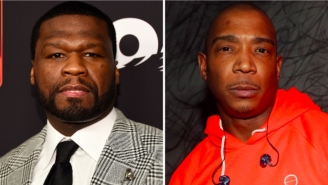 50 Cent Is Claiming Responsibility For Nemesis Ja Rule's Cringeworthy Halftime Performance At Bucks Game