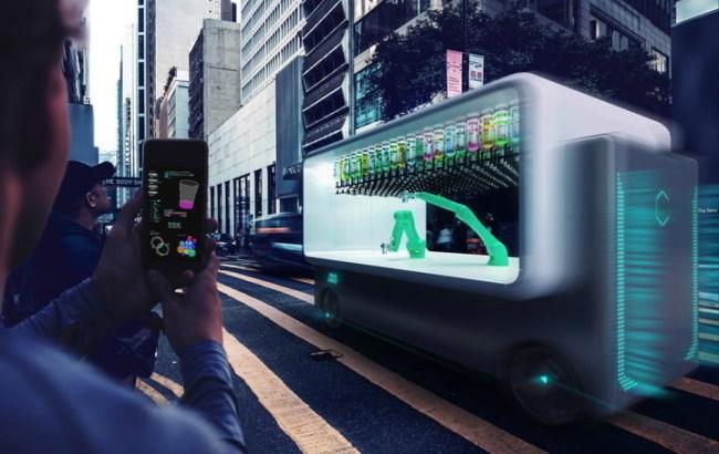 Self-Driving Autonmous Bar Guido Robot Bartenders Makr Shakr
