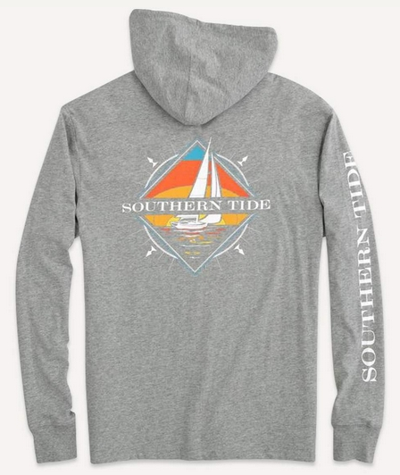 'Southern Sailboat Hoodie Tee