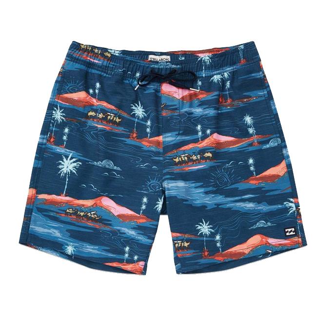 'Sundays' Layback Swim Shorts