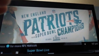 NFL Network Runs Commercial Showing Patriots Winning Super Bowl BEFORE The Super Bowl