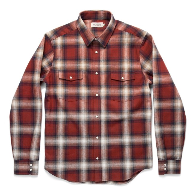 Taylor Stitch Red Flannel