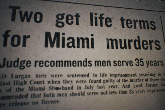 The Miami Showband Massacre