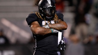 The AAF Flagged Trent Richardson For Spiking Its Really Expensive, Tracking-Deviced Football After His TD