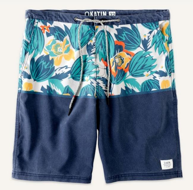 Tropical Swim Shorts by Katin