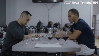 This Dude's Developed A Crazy 'Workout + Wine Tasting' Routine To Train For The Master Sommelier Test