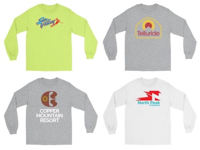 Retro Ski Shirts