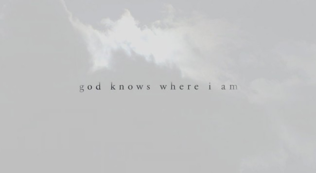 watch this documentary now god knows where i am movie