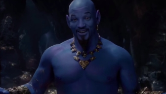 People Tore Into The New 'Aladdin' Movie After Getting A Look At Will Smith As The Genie