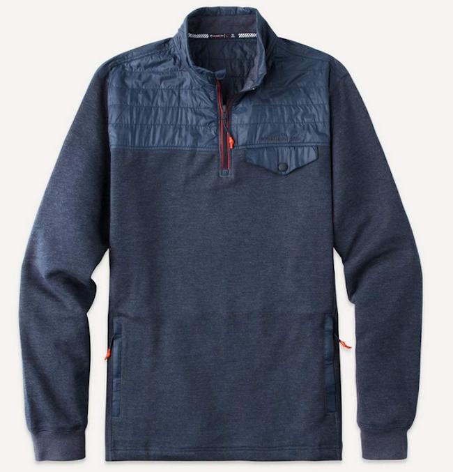 'Woodhaven' Windproof Pullover Fleece