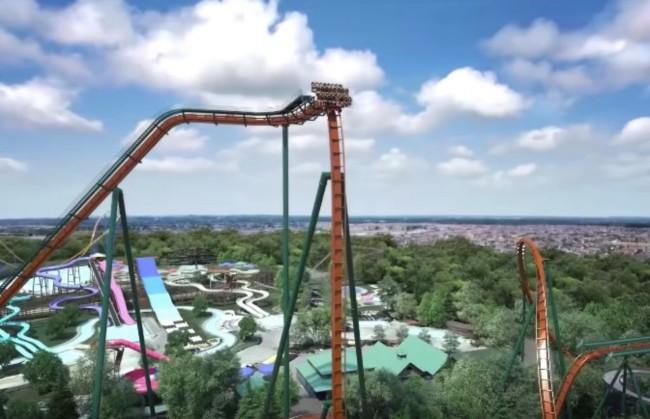 Yukon Striker roller coaster ride Canada
