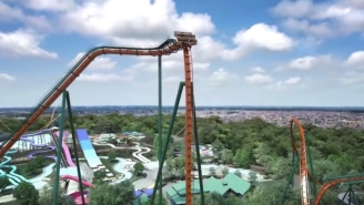 The Fastest 'Dive' Roller Coaster In The World Is About To Open In Canada With a 90-Degree Drop Reaching 81MPH