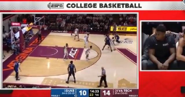 ESPN Zion Williamson cAM