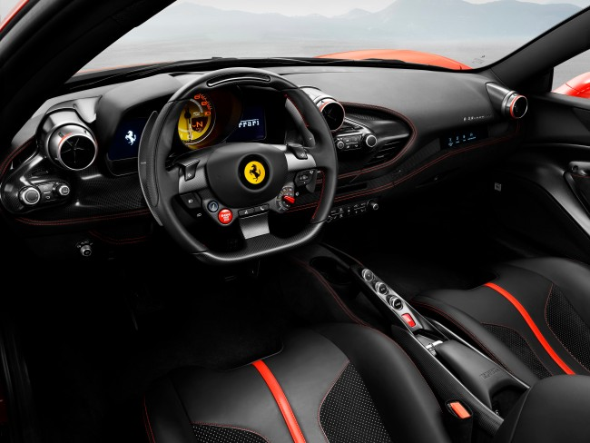 Ferrari Unveiled Their Brand New State-Of-The-Art F8 Tributo Supercar