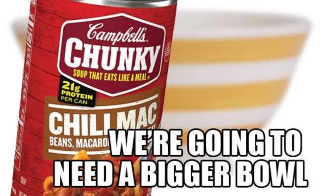 Funny Campbell's Chunky Soup Meme
