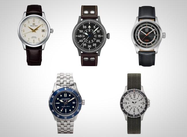 2019 men's watches