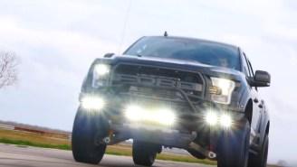 Dwayne 'The Rock' Johnson Splurges On $150,000 Custom VelociRaptor V8 From Hennessey Performance