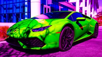 Feelgood Story Of The Day: A Bitcoin Millionaire Abandoned His Lamborghini Huracan In A Ditch