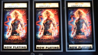 Brie Larson Blew 'Captain Marvel' Movie-Goers Minds, Selling Concessions At A New Jersey Theater