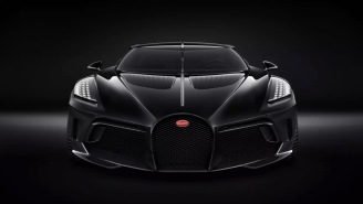 Bugatti's Made The Most Expensive New Car In History At $12.5 Million And It Looks Darth Vader's Private Spaceship