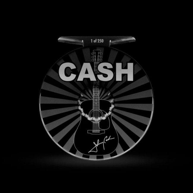 Johnny Cash Abel Reels fly fishing reel