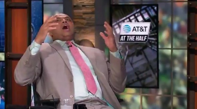 Charles Barkley Reaction To The Wild Auburn-New Mexico State Ending