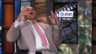 Charles Barkley's Reactions During The Wild Ending To The Auburn-New Mexico State Game Are Classic