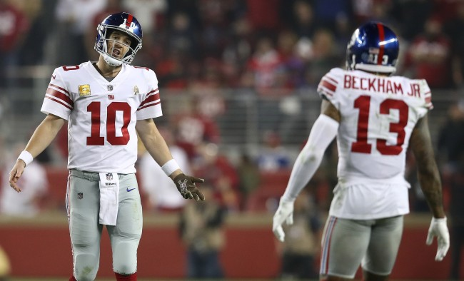 Chris Simms Has A Hot Take On Why The Giants Traded Odell Beckham Jr