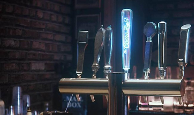 coors light beer wars tap