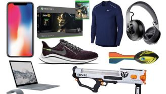 Daily Deals: Nerf Guns, Laptops, Nike Running Shoes, Air Rowers, iPhone X, Brooks Brothers Sale And More!
