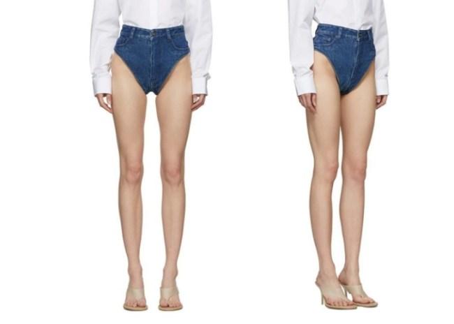 denim panties jeans janties