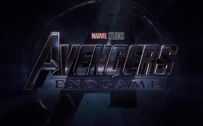 Avengers Endgame logo Marvel