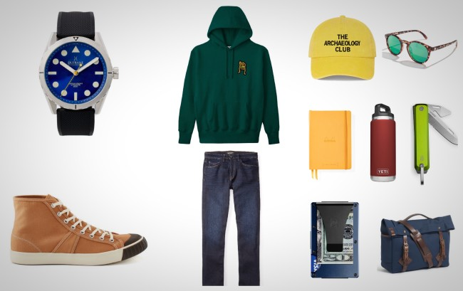 everyday carry essentials bold colors for men
