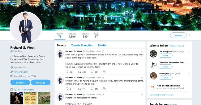 Fake Reporter's Twitter Fooled CBS And March Madness Player's Mom