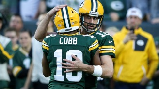 Aaron Rodgers Posts Emotional Message Honoring Randall Cobb On Instagram