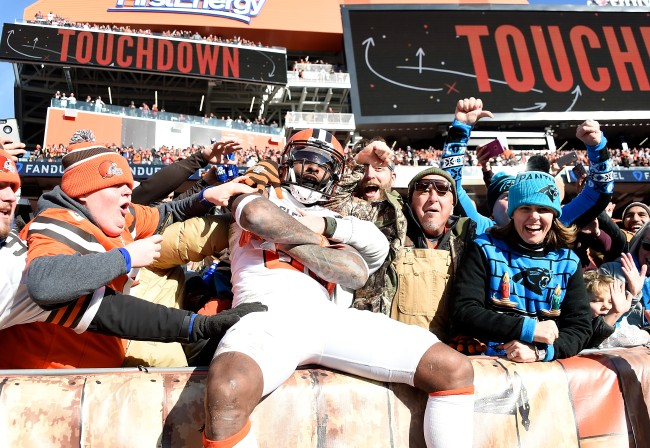 Jarvis Landry and Cleveland Browns fans