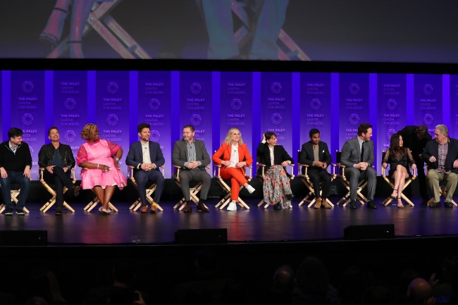 Parks and Recreation full cast reunion Paley Fest