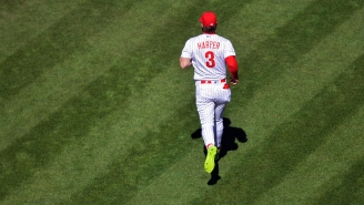 Rate Bryce Harper's Bright Green Phillie Phanatic Cleats He Rocked On Opening Day
