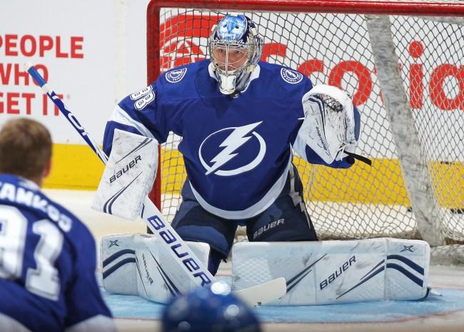 Andrej Vasilevskiy Tampa Bay Lightning NHL Hockey