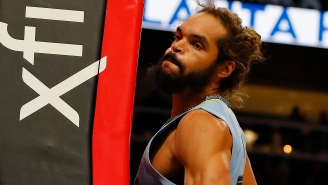 Joakim Noah Sensually Blowing Kisses To A Fan While At The Free Throw Line Sparks A+ Reactions