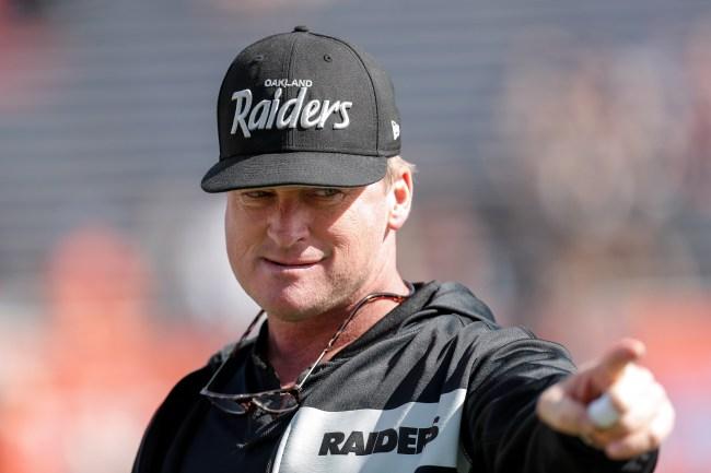 Jon Gruden Oakland Raiders