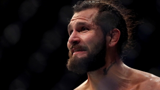 UFC Welterweight Jorge Masdival Leaves Post-Match Interview To Punch A Trash-Talking Leon Edwards In The Face