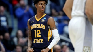 The Internet Reacts To Murray State's Ja Morant Putting On A Show And Destroying Marquette In NCAA Tournament