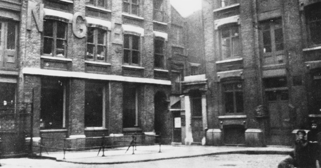 Mitre Square where Jack the Ripper murdered a woman, now serial killer's identity revealed