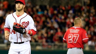 Bryce Harper Speaks Out About Getting Upstaged By Mike Trout's Record-Breaking Contract