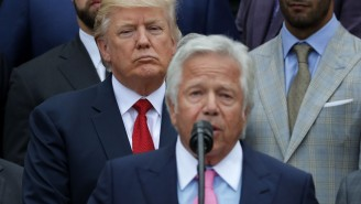 Trump Was Pictured With The Founder Of The Massage Parlor Where Robert Kraft Was Busted At Mar-A-Lago Super Bowl Party