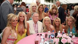 Former Playmate And Girlfriend Of Hugh Hefner Says There Is A Female Ghost Haunting The Playboy Mansion