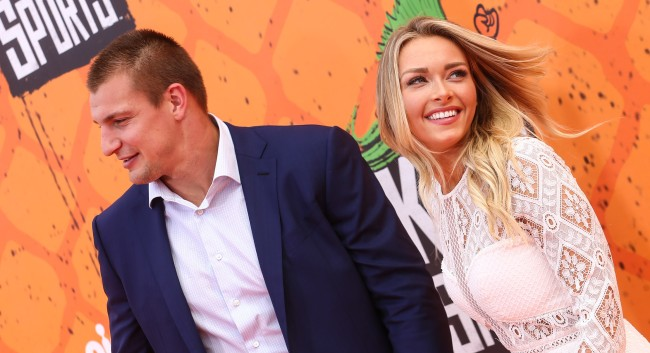 Gronk And His Girlfriend Camille Kostek Are In Cabo With The Deckers