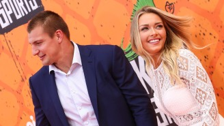 Gronk And His Girlfriend Camille Kostek Are Having A Hell Of A Time In Cabo With The Deckers